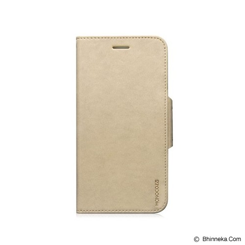 MONOCOZZI Lucid Translucent Folio Case for iPhone 6 - Cream - Casing Handphone / Case