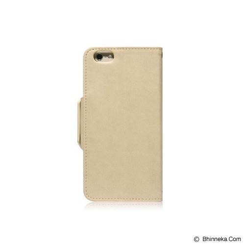 MONOCOZZI Lucid Translucent Folio Case for iPhone 6 - Cream - Casing Handphone / Case