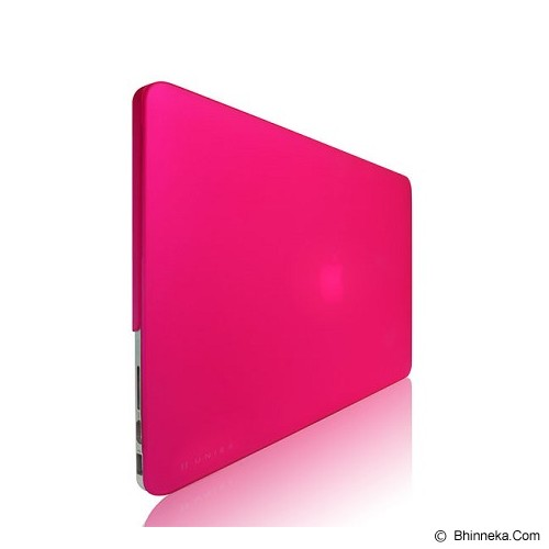 MONOCOZZI Matte Hard Shell Case Pink 11 inch for Macbook Air - Pink - Notebook Skin