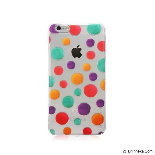 MONOCOZZI Pattern Transparent Case iPhone 6 Plus Bubbles - Casing Handphone / Case