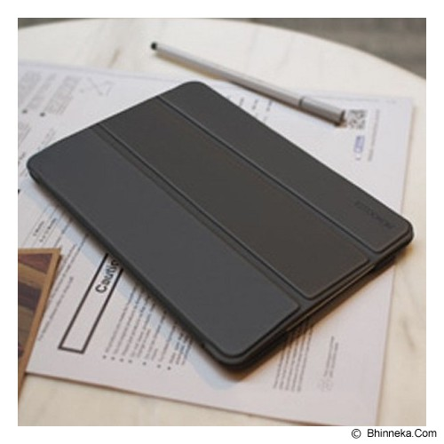 MONOCOZZI Ultra Slim Hard Apple Flip Case for iPad Mini 3 with Auto - Black - Casing Tablet / Case