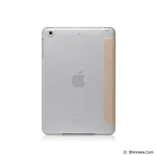 MONOCOZZI Ultra Slim Hard Flip Case for Apple iPad Mini 3 with Auto - Cream - Casing Tablet / Case