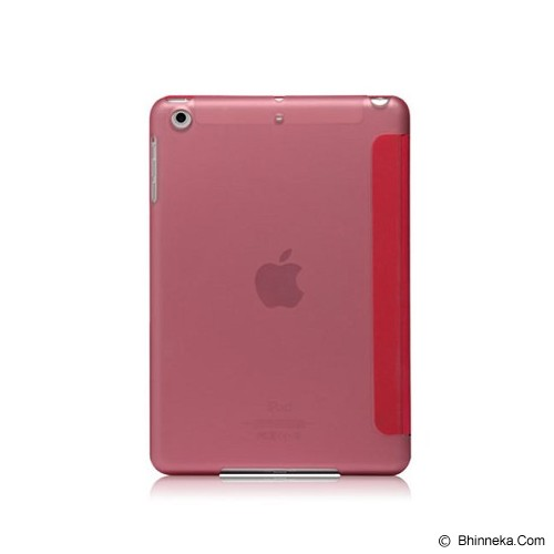 MONOCOZZI Ultra Slim Hard Flip Case for Apple iPad Mini 3 with Auto - Pink - Casing Tablet / Case