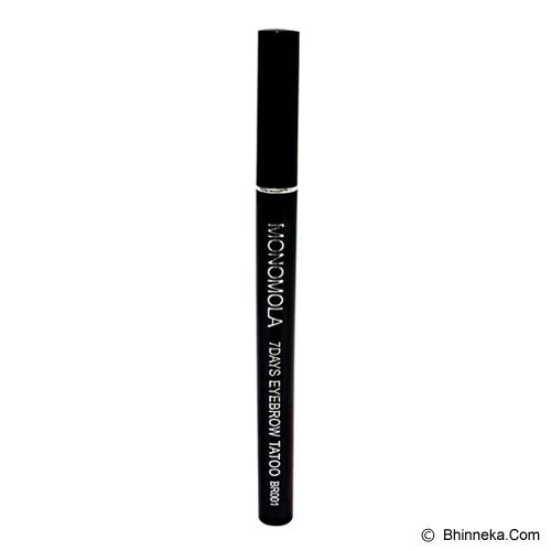 MONOMOLA 7 Days Eyebrow Tatoo Coklat - Eyebrow Color