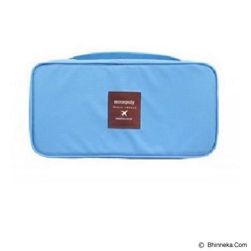 MONOPOLY Travel Underwear Pouch - Blue - Travel Bag