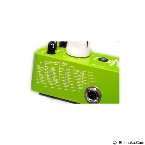 MOOER Mod Factory (Merchant) - Guitar Stompbox Effect