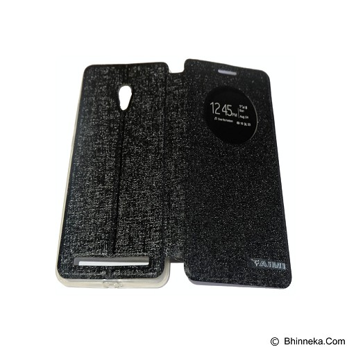 AIMI Flipcover Fitur View for Asus Zenfone 6 AC600CG - Black (Merchant) - Casing Handphone / Case