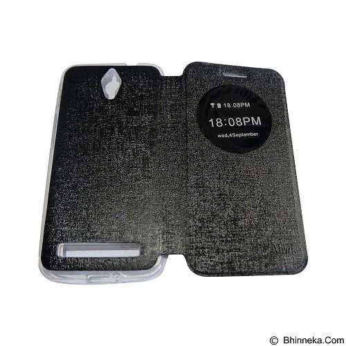 AIMI Flipcover Fitur View for Asus Zenfone C ZC451KL - Black (Merchant) - Casing Handphone / Case