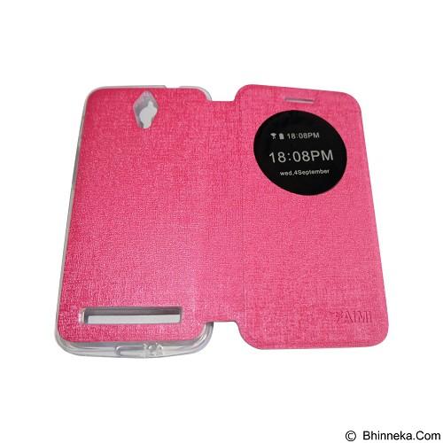 AIMI Flipcover Fitur View for Asus Zenfone C ZC451KL - Pink (Merchant) - Casing Handphone / Case