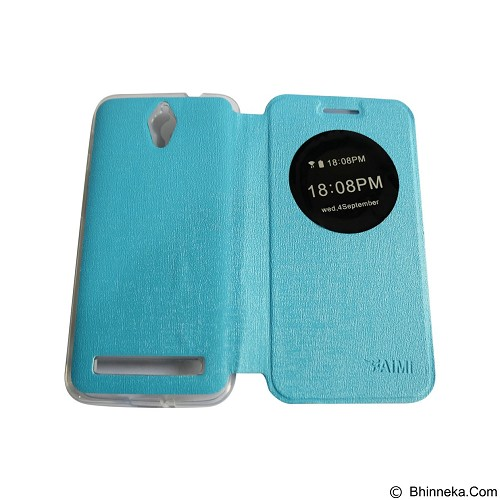 AIMI Flipcover Fitur View for Asus Zenfone C ZC451KL - Soft Blue (Merchant) - Casing Handphone / Case