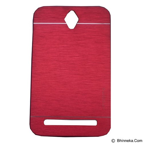 MOTOMO Ino Metal Case Asus Zenfone GO 4.5 - Red (Merchant) - Casing Handphone / Case