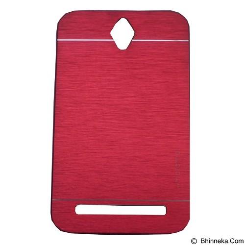 MOTOMO Ino Metal Case Asus Zenfone GO 4.5 - Red (Merchant) - Casing Handphone / Case