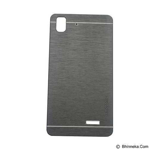MOTOMO Ino Metal Case Oppo R7 - Black (Merchant) - Casing Handphone / Case