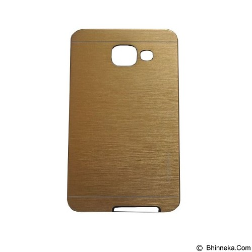 MOTOMO Ino Metal Case Samsung Galaxy A510 - Gold (Merchant) - Casing Handphone / Case