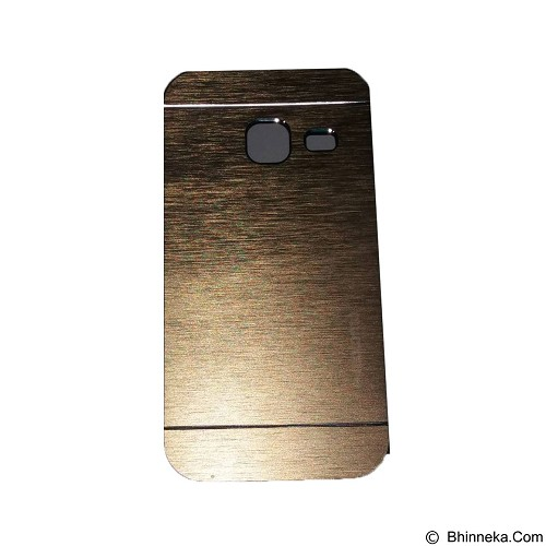 MOTOMO Ino Metal Case Samsung Galaxy J1 Mini - Gold (Merchant) - Casing Handphone / Case