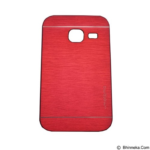 MOTOMO Ino Metal Case Samsung Galaxy J1 Mini - Red (Merchant) - Casing Handphone / Case