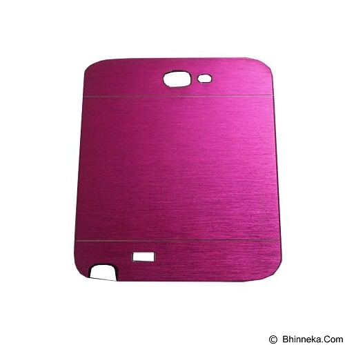 MOTOMO Ino Metal Case Samsung Galaxy Note 2 - Fuchsia (Merchant) - Casing Handphone / Case