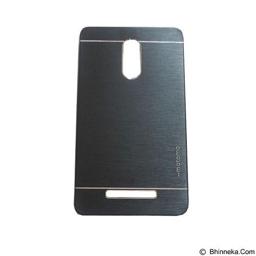 MOTOMO Ino Metal Case Xiaomi Redmi Note 3 - Black (Merchant) - Casing Handphone / Case