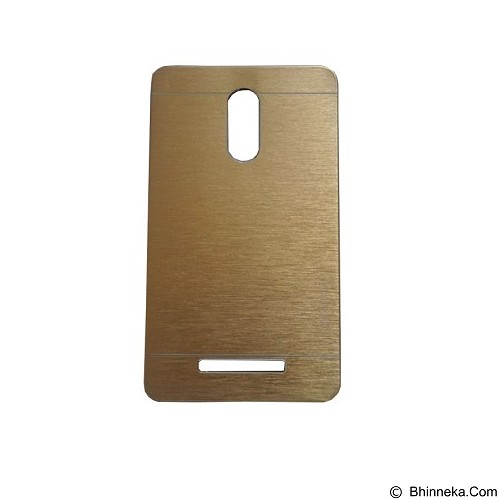 MOTOMO Ino Metal Case Xiaomi Redmi Note 3 - Gold (Merchant) - Casing Handphone / Case