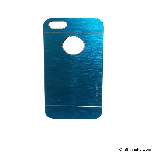 MOTOMO Ino Metal Case iPhone 5G - Blue (Merchant) - Casing Handphone / Case