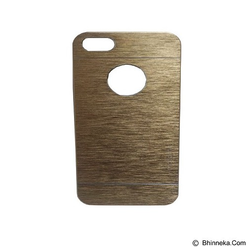 MOTOMO Ino Metal Case iPhone 5G - Gold (Merchant) - Casing Handphone / Case
