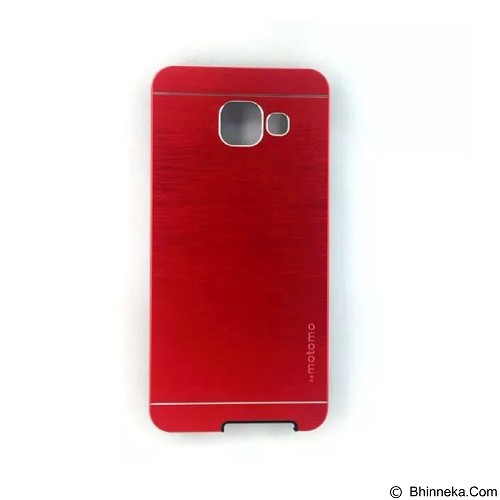 MOTOMO Metal Case Samsung Galaxy A7 (2016) - Red (Merchant) - Casing Handphone / Case