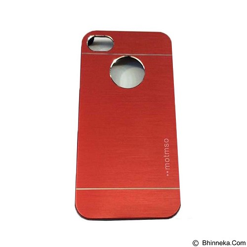 MOTOMO Metal Hardcase for Apple iPhone 6 Plus/6s Plus - Red (Merchant) - Casing Handphone / Case