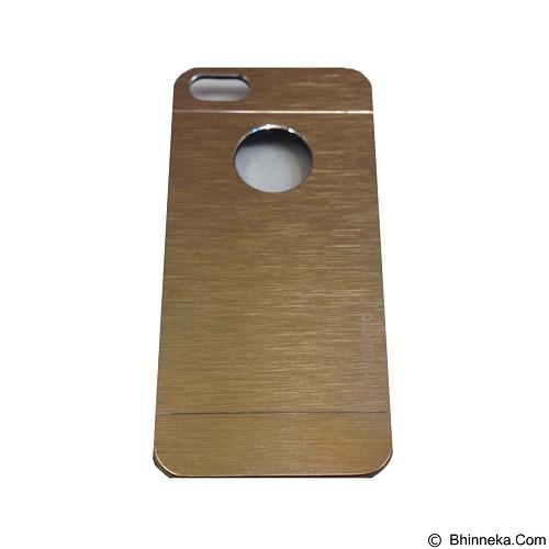 MOTOMO Metal Hardcase for Apple iPhone 6G/6S - Gold (Merchant) - Casing Handphone / Case