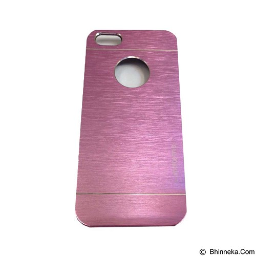 MOTOMO Metal Hardcase for Apple iPhone 6G/6S - Pink (Merchant) - Casing Handphone / Case