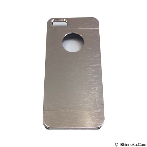 MOTOMO Metal Hardcase for Apple iPhone 6G/6S - Silver (Merchant) - Casing Handphone / Case