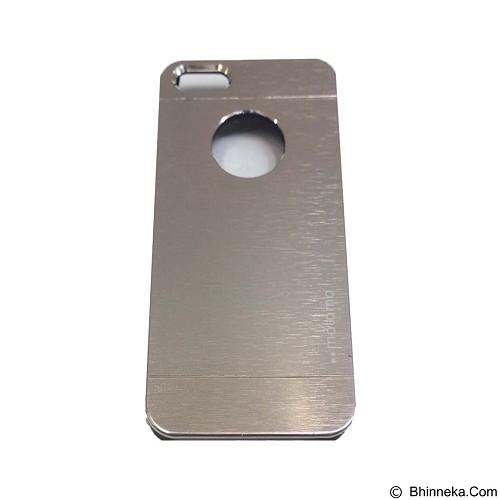 MOTOMO Metal Hardcase for Apple iPhone 6G/6S - Silver (Merchant) - Casing Handphone / Case