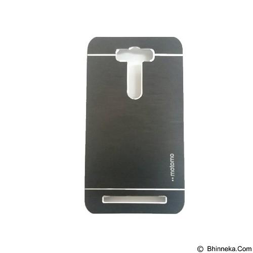 MOTOMO Metal Hardcase for Asus Zenfone 2 Laser 5,5 Inch [ZE550KL] - Black (Merchant) - Casing Handphone / Case