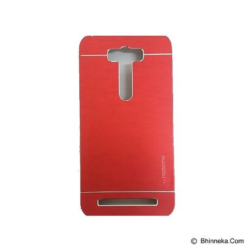 MOTOMO Metal Hardcase for Asus Zenfone 2 Laser 5,5 Inch [ZE550KL] - Red (Merchant) - Casing Handphone / Case