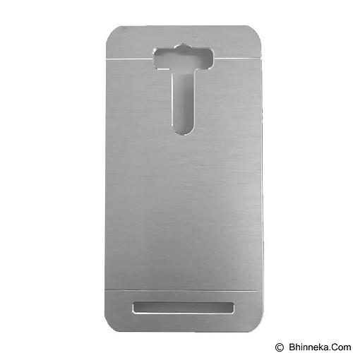 MOTOMO Metal Hardcase for Asus Zenfone 2 Laser 5,5 Inch [ZE550KL] - Silver (Merchant) - Casing Handphone / Case