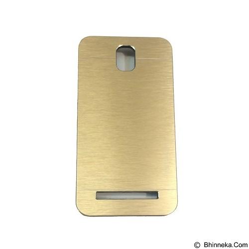MOTOMO Metal Hardcase for Asus Zenfone C [ZC451CG] - Gold (Merchant) - Casing Handphone / Case