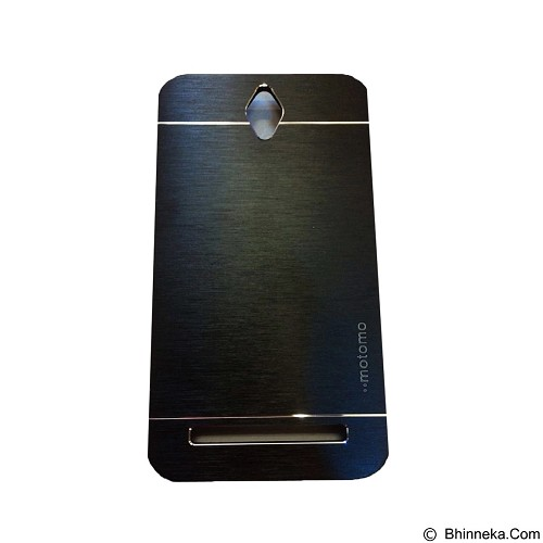 MOTOMO Metal Hardcase for Asus Zenfone Go 4,5 [ZB451TG] - Black (Merchant) - Casing Handphone / Case