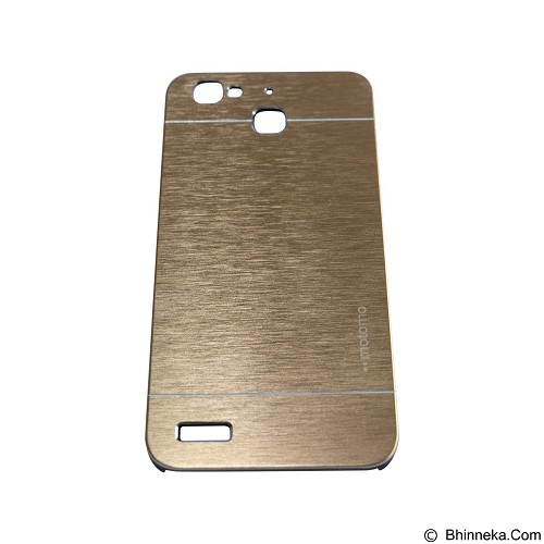 MOTOMO Metal Hardcase for Huawei GR3/Enjoy 5s - Gold (Merchant) - Casing Handphone / Case