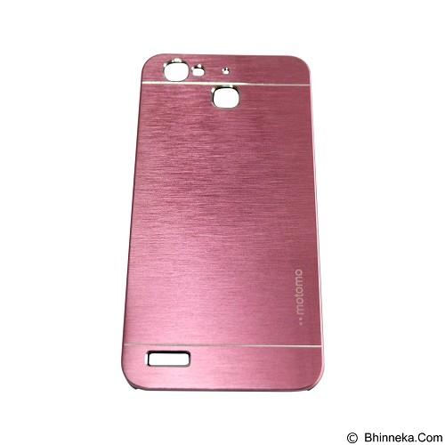 MOTOMO Metal Hardcase for Huawei GR3/Enjoy 5s - Pink (Merchant) - Casing Handphone / Case