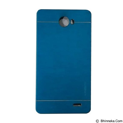 MOTOMO Metal Hardcase for Infinix Note 2 - Soft Blue (Merchant) - Casing Handphone / Case