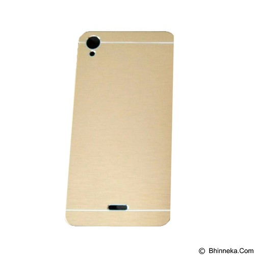 MOTOMO Metal Hardcase for Infinix Note - Gold (Merchant) - Casing Handphone / Case
