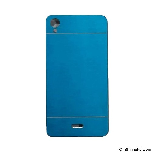 MOTOMO Metal Hardcase for Infinix Note - Soft Blue (Merchant) - Casing Handphone / Case