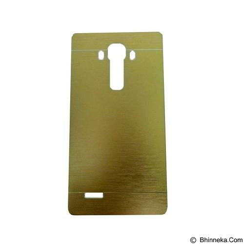 MOTOMO Metal Hardcase for LG G4 - Gold (Merchant) - Casing Handphone / Case