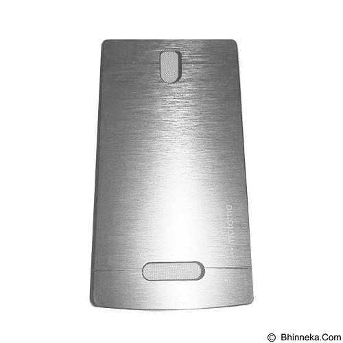 MOTOMO Metal Hardcase for Lenovo A2010 - Silver (Merchant) - Casing Handphone / Case