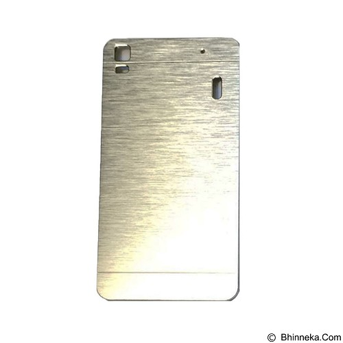 MOTOMO Metal Hardcase for Lenovo K3 Note  -  Silver (Merchant) - Casing Handphone / Case