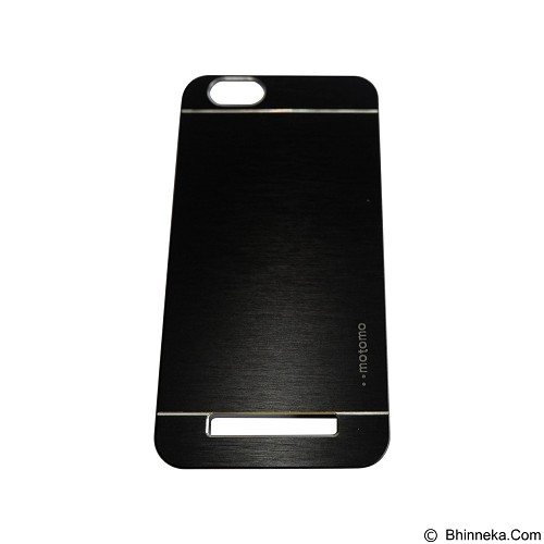 MOTOMO Metal Hardcase for Lenovo Vibe C  - Black (Merchant) - Casing Handphone / Case