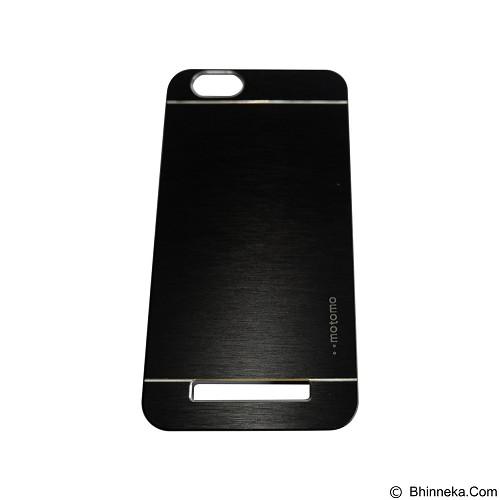 MOTOMO Metal Hardcase for Lenovo Vibe C  - Black (Merchant) - Casing Handphone / Case