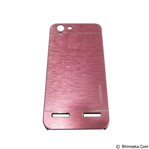 MOTOMO Metal Hardcase for Lenovo Vibe K5 Plus - Pink (Merchant) - Casing Handphone / Case