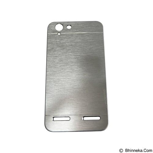 MOTOMO Metal Hardcase for Lenovo Vibe K5 Plus - Silver (Merchant) - Casing Handphone / Case