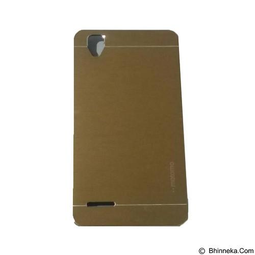 MOTOMO Metal Hardcase for Oppo F1 - Gold (Merchant) - Casing Handphone / Case
