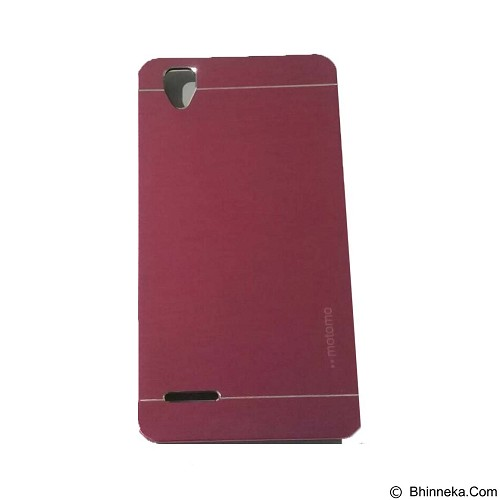 MOTOMO Metal Hardcase for Oppo F1 - Pink (Merchant) - Casing Handphone / Case